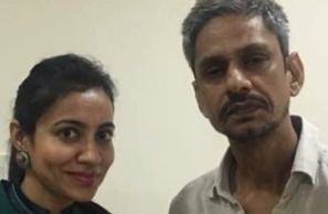 Actor Vijay Raaz and Dr Shalaka Kadali